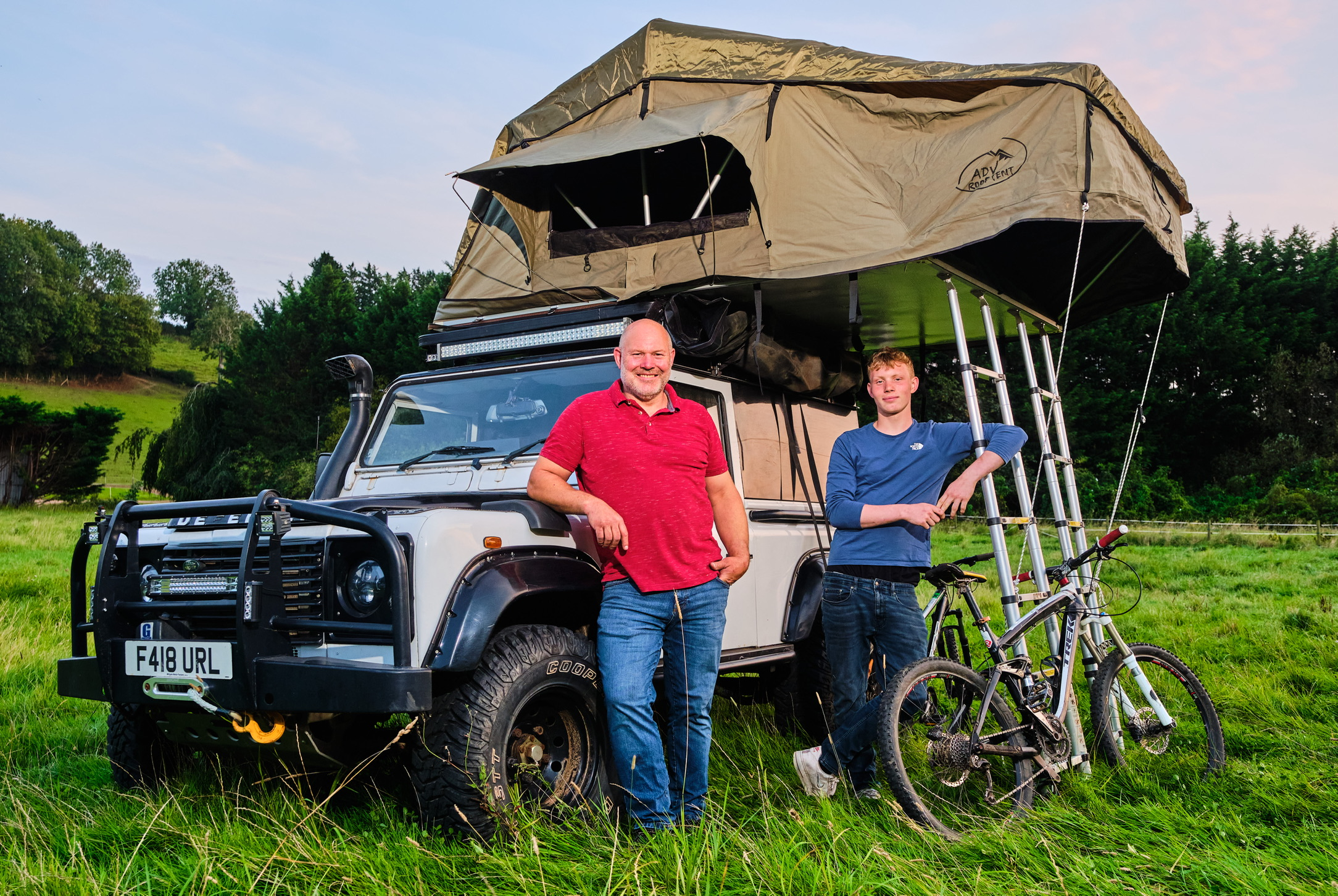 Tom Parkes owner of ADV Roof Tent