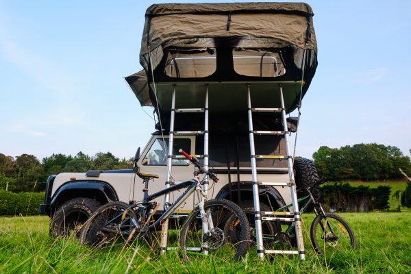 ADV roof tent ladder
